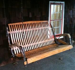 amish porch swing