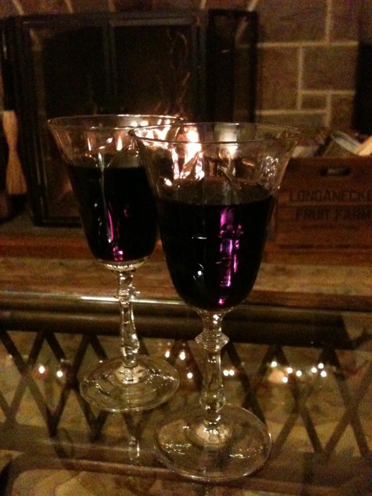 Beaujolais in crystal