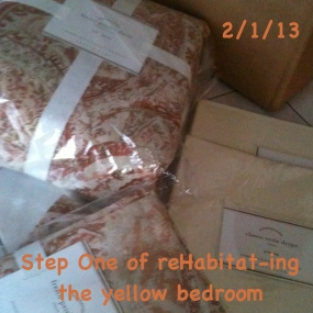 Re-Habitating the Yellow Bedroom, Part 2