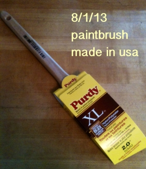 Purdy paintbrush