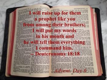 Deuteronomy 18:18