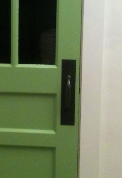 DIY Oil Rubbed Bronze Door handle