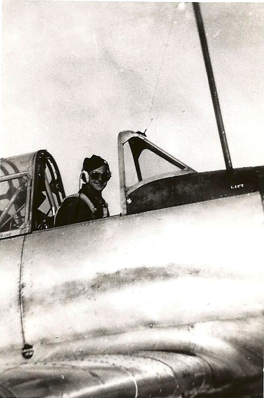 Dad in his plane