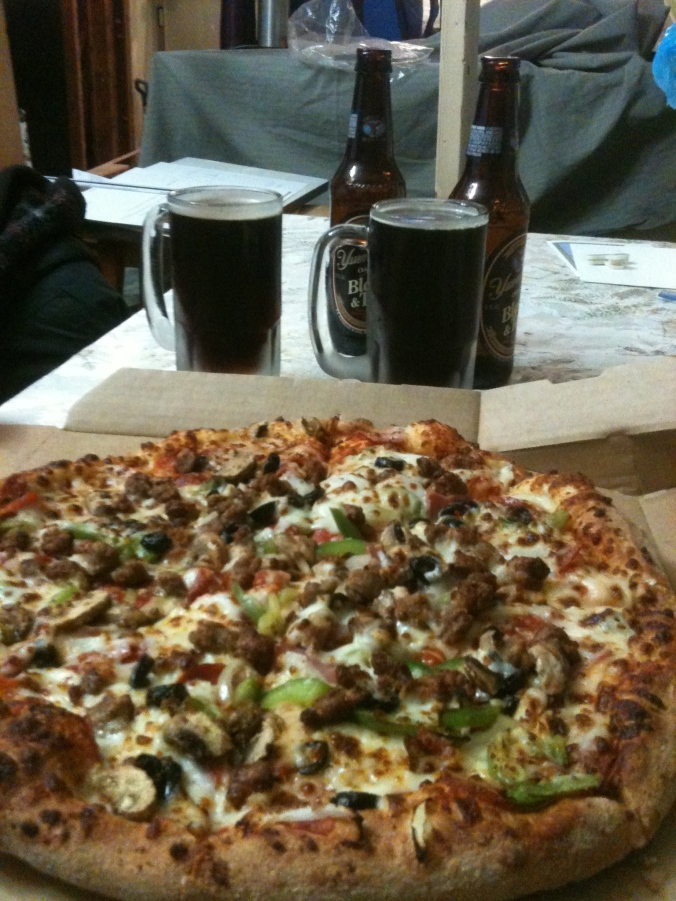 Domino's and Black & Tans