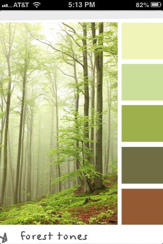 Design Seeds Forest Tones