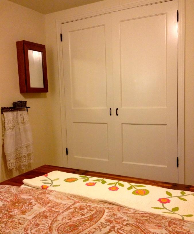 New closet doors