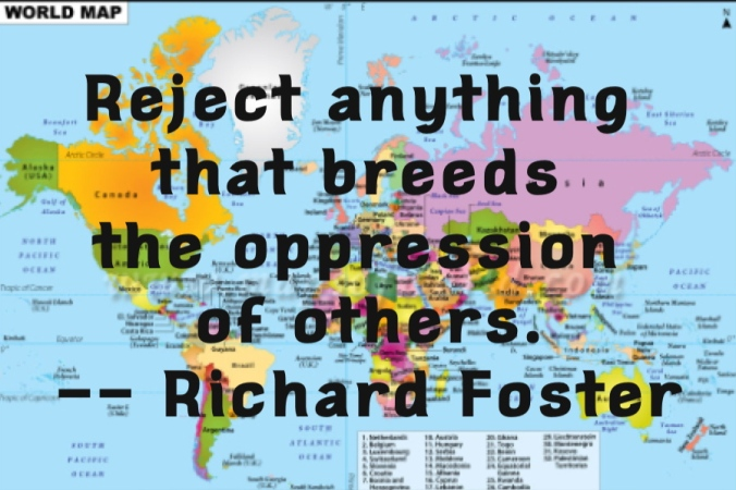 Richard Foster quote