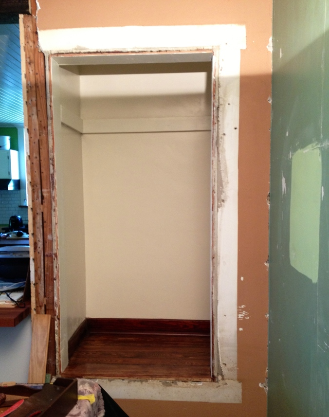 Dining room closet