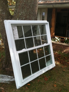 American Craftsman window from Home Depot