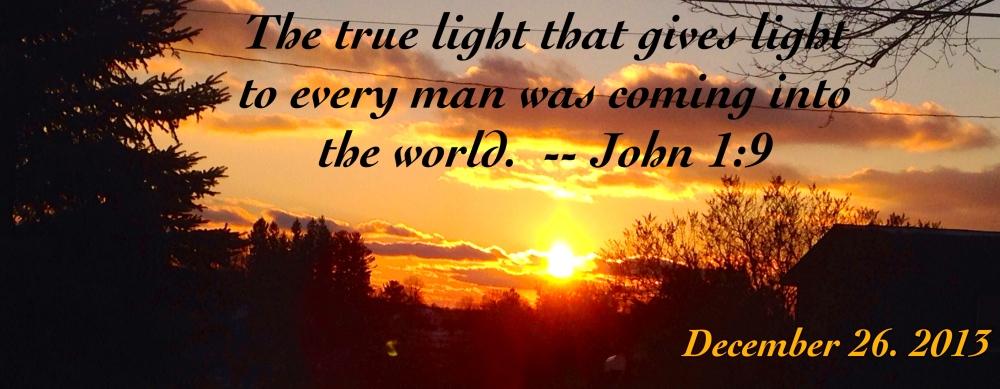 John 1:9