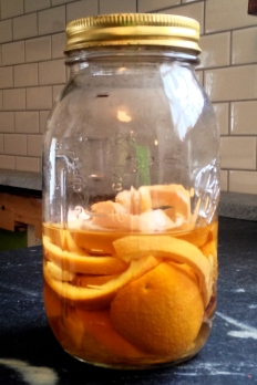 Orange Vinegar!