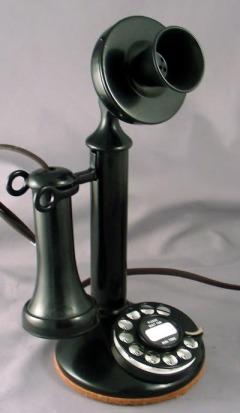 TelephoneCandlestick1930sto1940s