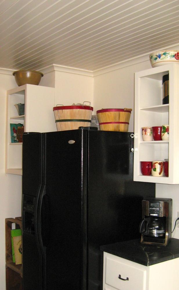 corner with fridge