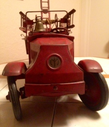 Antique Steelcraft Vintage Firetruck