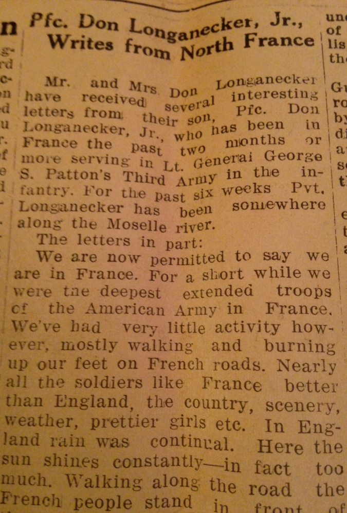 Waynesburg Republican, Oct. 26, 1944