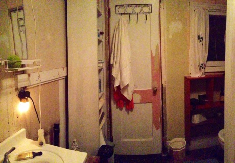 Yes, it's a sad state of affairs when your bathroom looks like this...