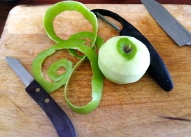 apple peel
