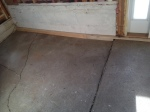 mudroom floor cracks