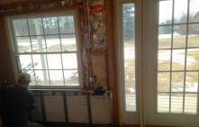 New door and window
