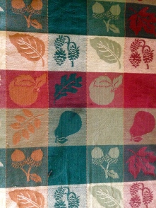 My new vintage tablecloth