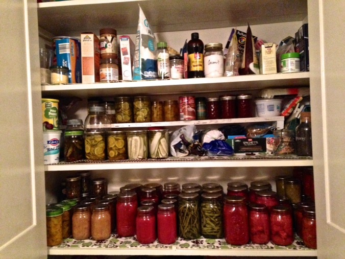 the fruits of canning season