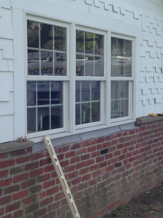 Front windows Before