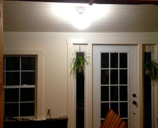 trimmed door and window