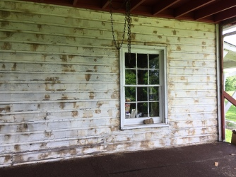 to clapboard siding