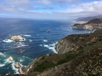 Overlook off Highway 1 between Carmel and Big Sur